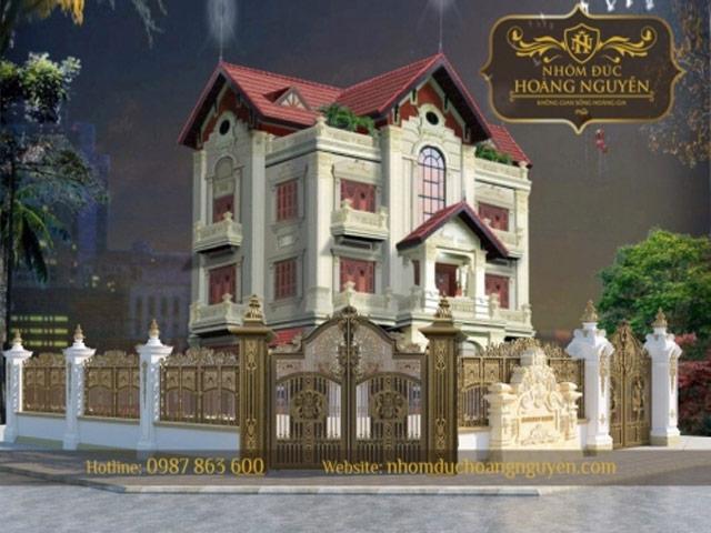 Gợi ý cách chọn cổng nhôm đúc cho biệt thự